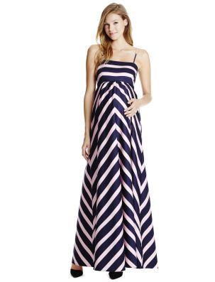 6b4c8162019b Motherhood Maternity Jessica Simpson Spaghetti Strap Empire Waist Maternity  Maxi Dress