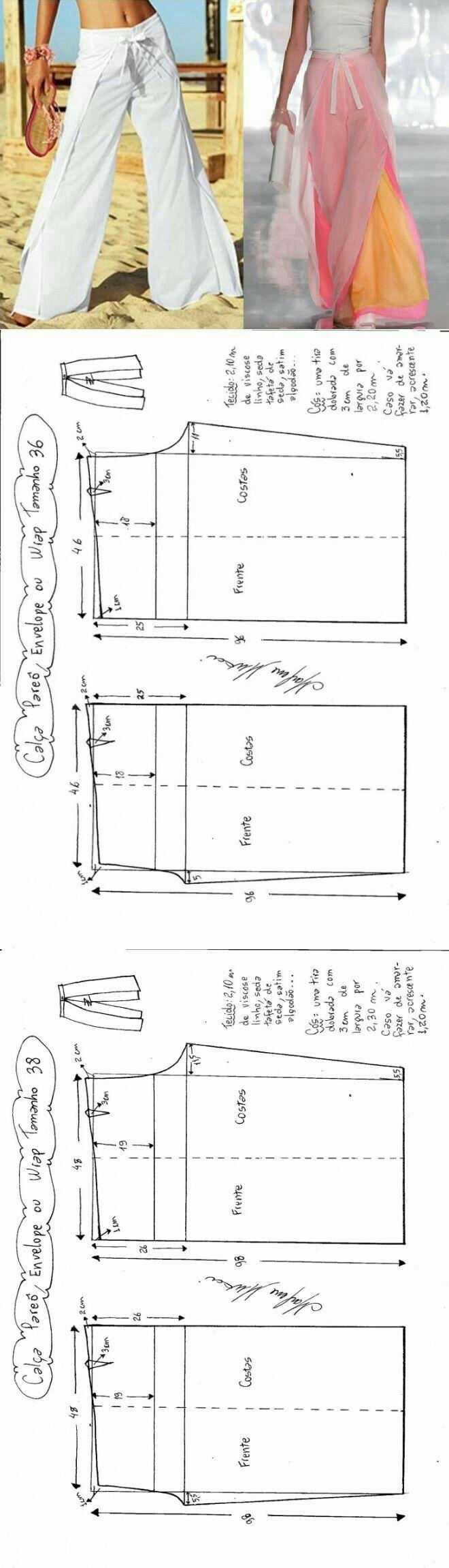 Pantalaccio | DIY clothes | Pinterest | Costura, Patrones y Patrones ...