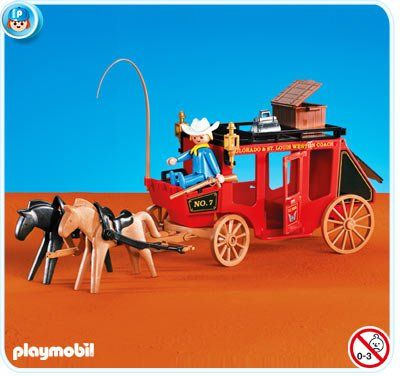 Playmobil 7428 western kutsche playmobil western - Playmobil kutsche ...
