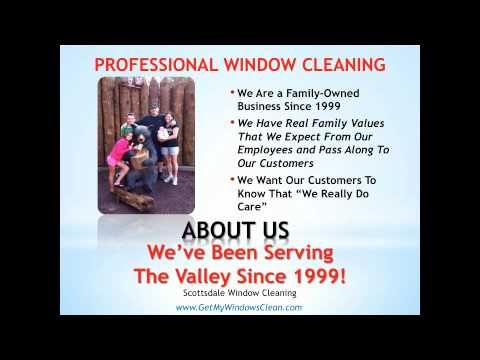 http://www.GetMyWindowsClean.com - About Us. Professional Window Cleaning provides the best window cleaning services for both residential and commercial customers in Scottsdale, AZ.