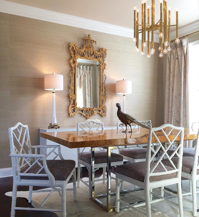 Marcus Design Reno Project Update  Upcycling Rattan Chairs  Oh Fascinating Taupe Dining Room Chairs Inspiration