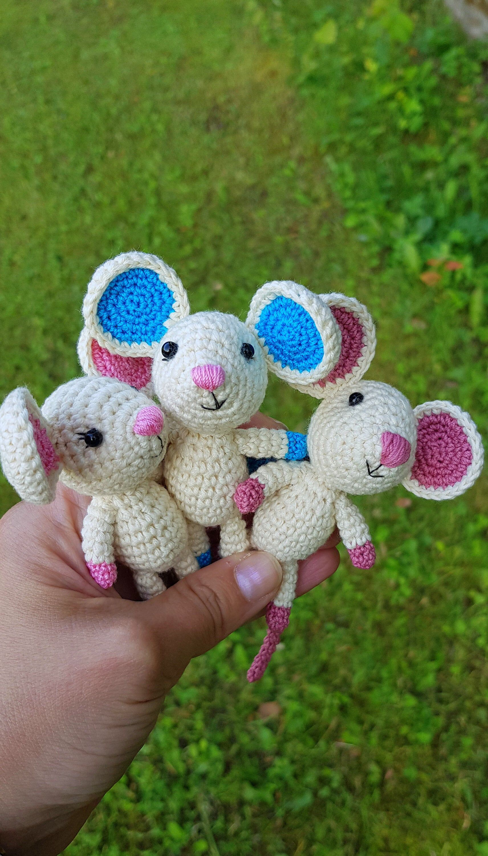 PDF Crochet Pattern TINY MOUSE in Walnut Shell (English only ... | 3000x1712