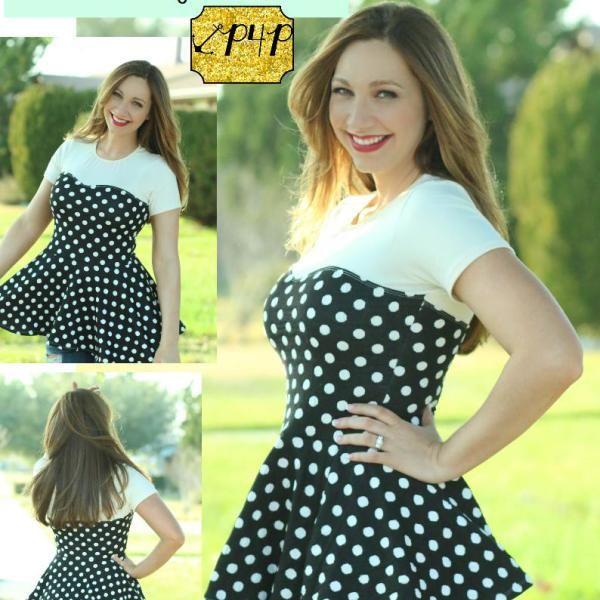 Sweetheart Dress Sweetheart Dress Pattern Peplum Dress Pattern