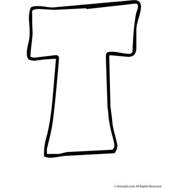 Bubble Letter T