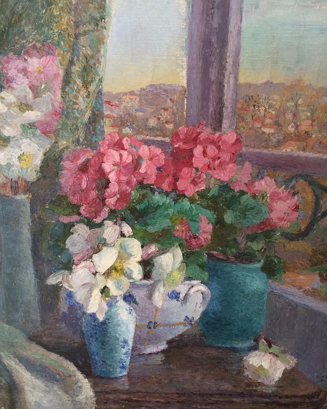 Flowers # on window Will # fiori sul davanzale