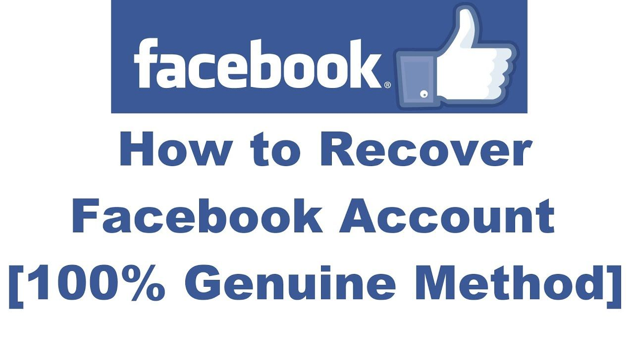 Recover Facebook Id Forgot Password Of Facebook Id And Email Id