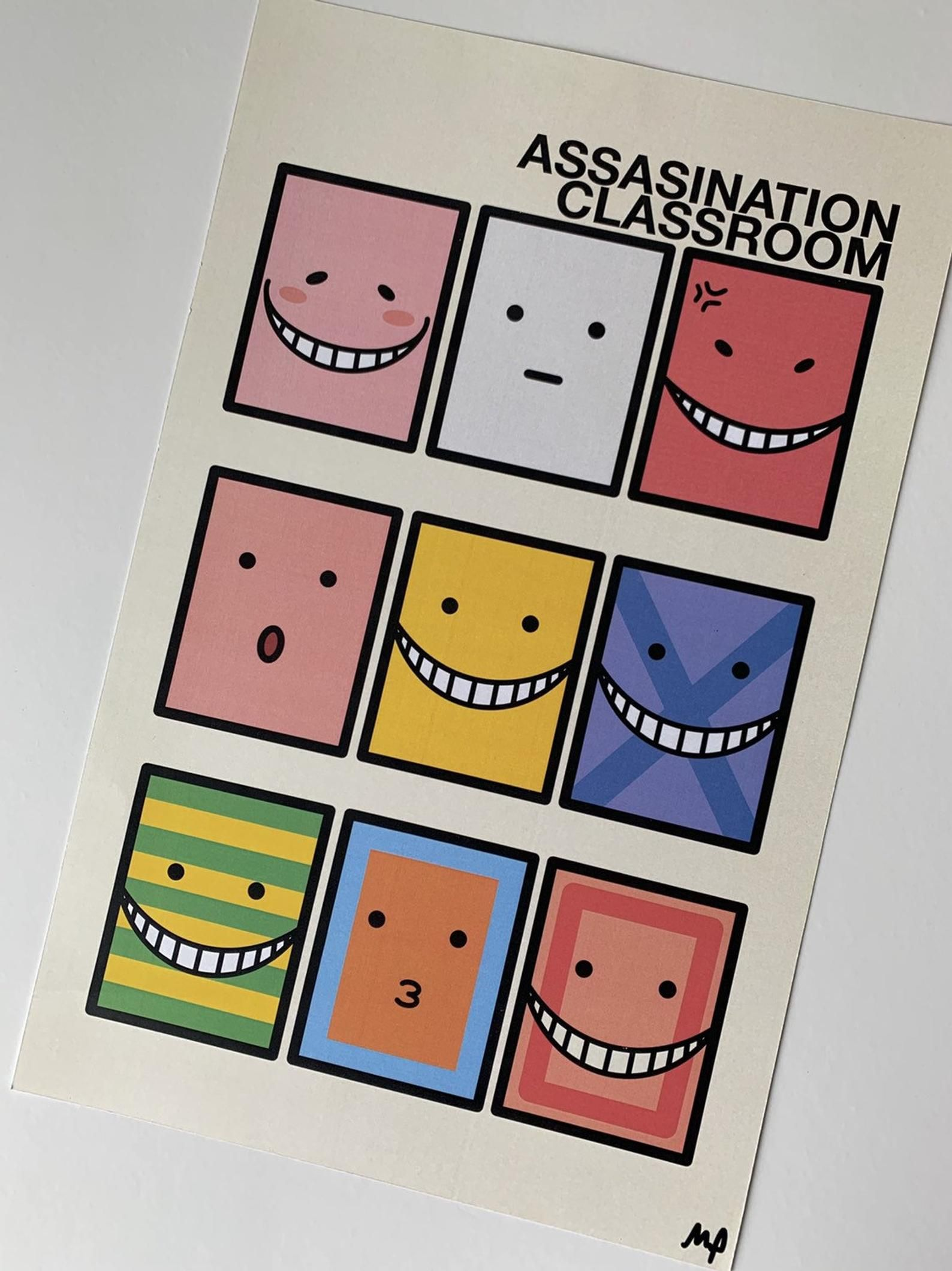 Photo of Smiley Faces Anime Poster