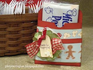 Great gift packaging for the holidays! http://playswithglue.blogspot.com