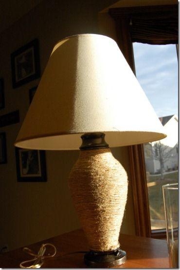 Decorate With Jute Addicted 2 Decorating Jute Lamp Lamp Decor