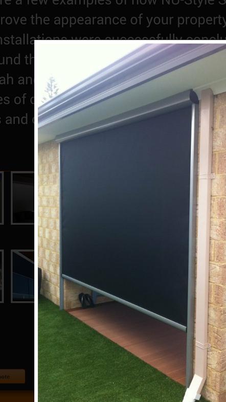 Designer Elements Blackout Panel Track Patio Door Coverings