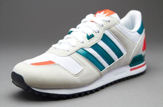 best website 56f9a 80ac0 adidas Originals ZX700 - Mens Select Footwear - Running White-Bliss-St Deep  Lake