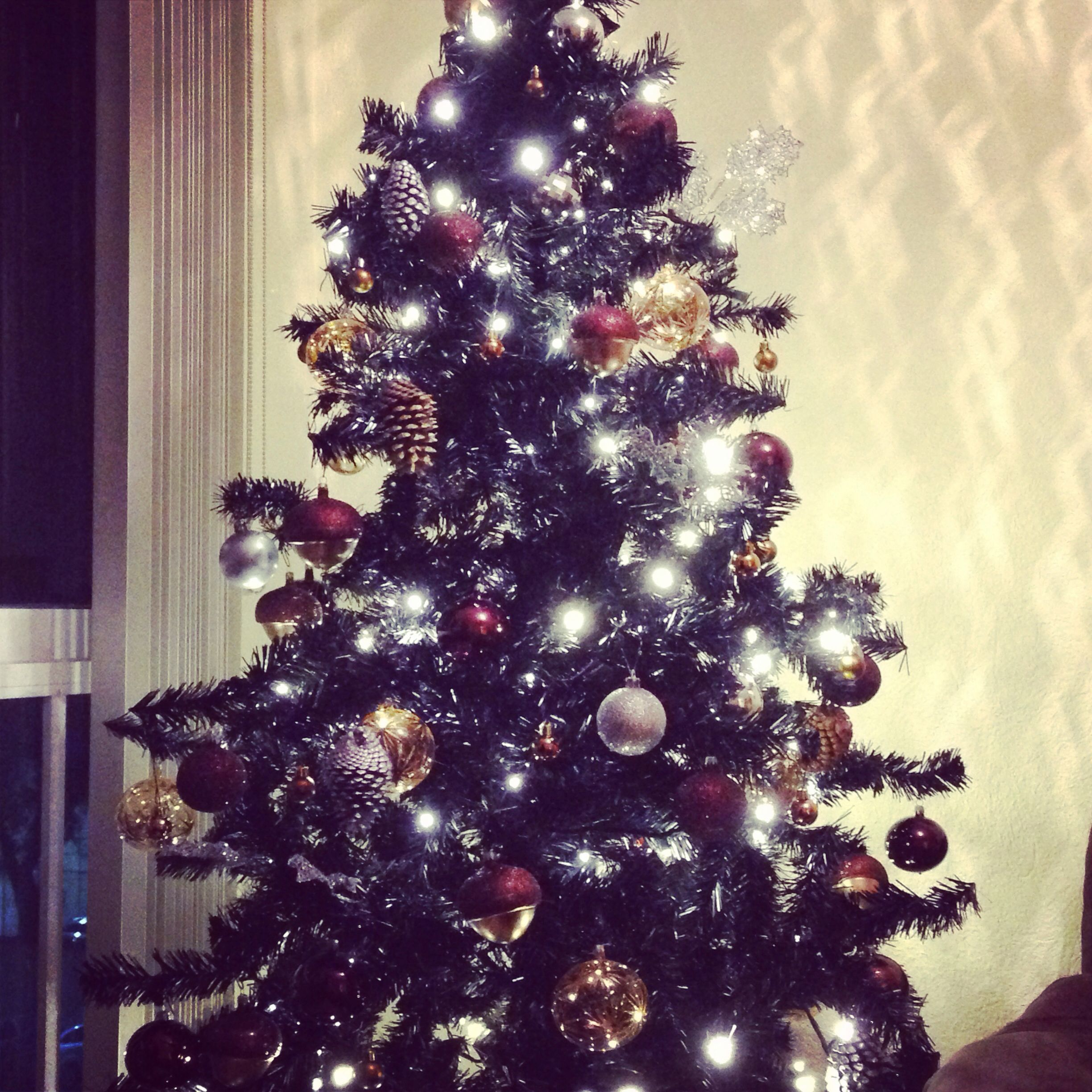 My Black Christmas Tree