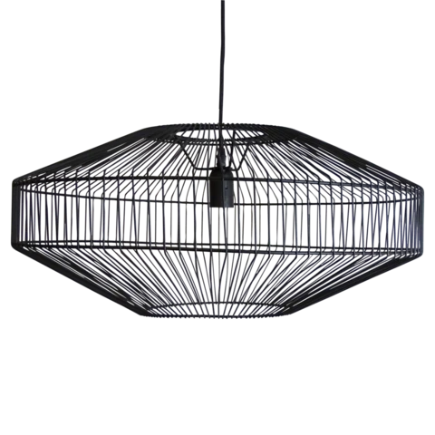 Theron Pendant Black In 2020 Ceiling
