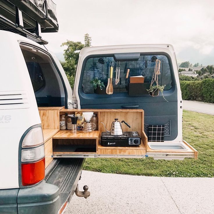 Photo of Suv camping kitchen #camping #kitchen   suv camping küche   cuisine de campin