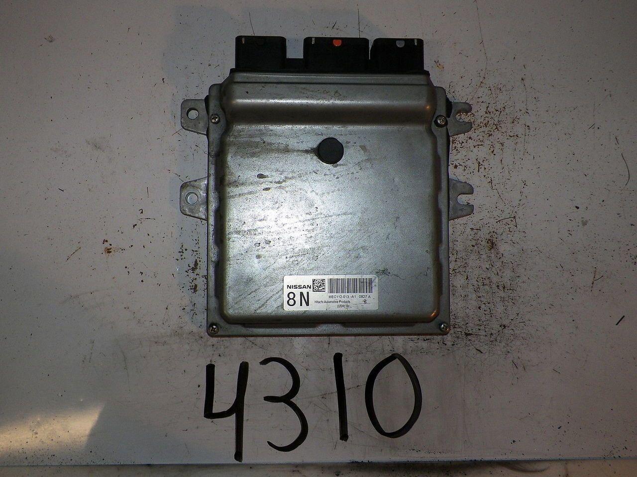 2010 10 NISSAN ALTIMA 2 5L FWD AT COMPUTER BRAIN ENGINE