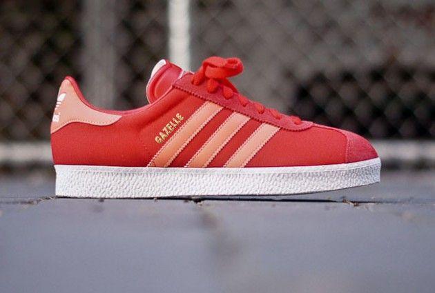 "adidas Gazelle II ""Vivid Red"" | Sneakers | Adidas gazelle, Adidas ..."