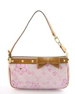 01b88b19362 Louis Vuitton Cherry Blossom Pochette Limited Edition 2003 Takashi Murakami