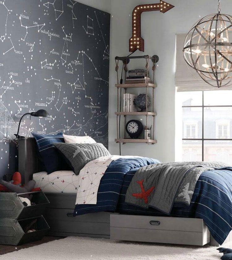 Best 65 Cool Teenage Boys Room Decor Ideas Designs 2020 400 x 300
