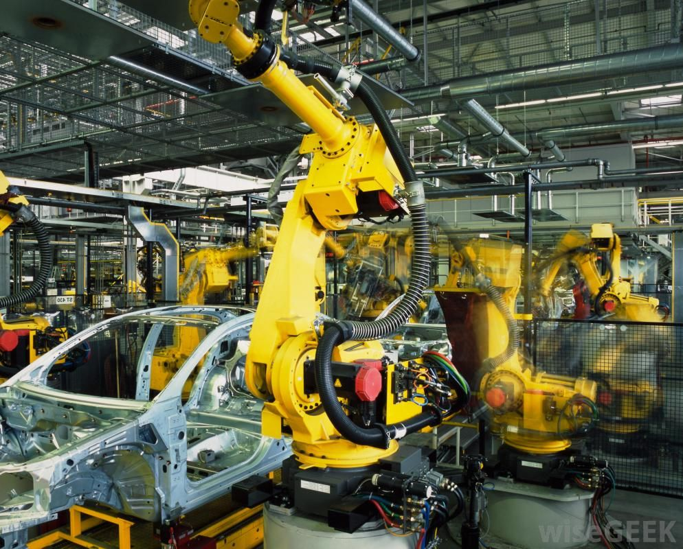 Modern Industrial Robots Are True Marvels Of Engineering A Robot The Size Of A Person Can Easily Computer Aided Manufacturing Manufacturing Industrial Robots