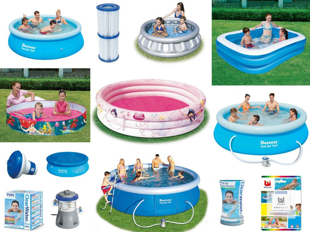 Details about BESTWAY 8, 10, 15 feet SWIMMING POOL PUMP ...