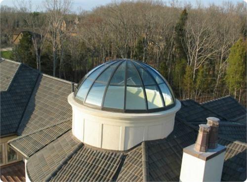Dome Skylight By Solar Innovations On Homeportfolio Skylight Design Skylight Roof Lantern