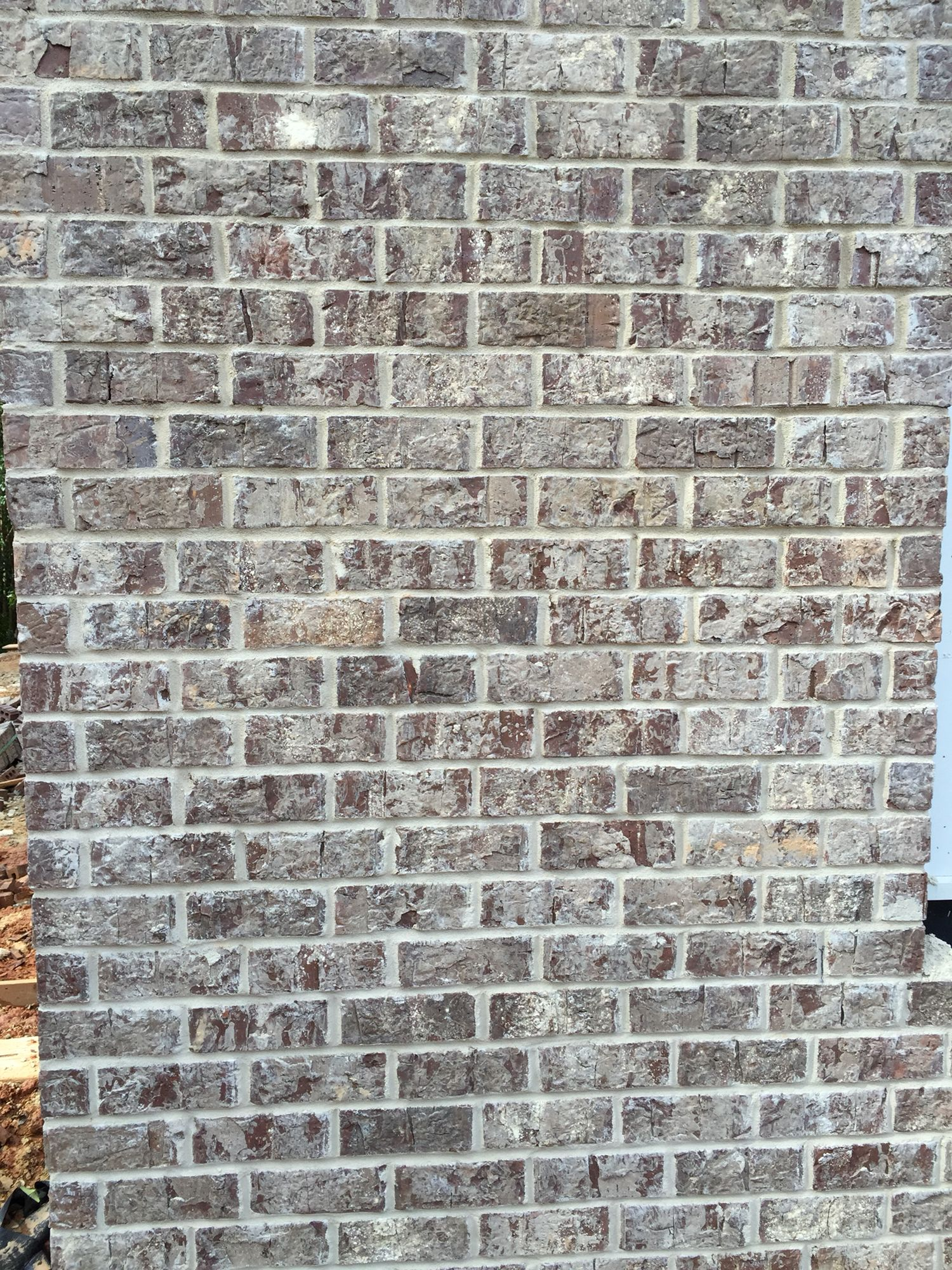 Brick Stonewall Mortar Anti Buff Brick Close Ups