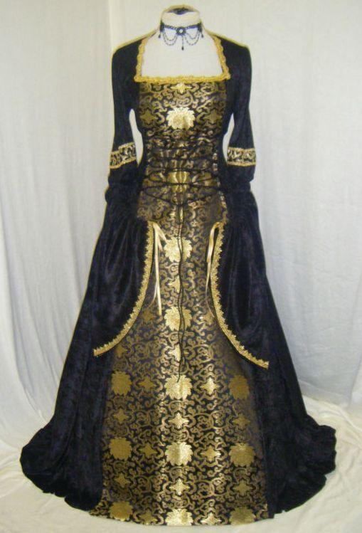 Pin de Fátima Cris en medieval dresses (vestido medieval ...