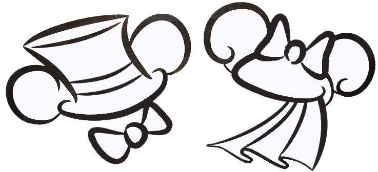 wedding ears disney ideas wedding mickey minnie wedding rh pinterest com Baby Mickey Mouse Clip Art Mickey Mouse Hands Clip Art