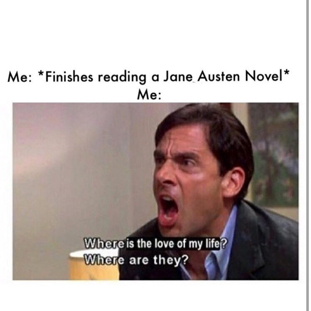 Jane Austen Period Drama Memes On Instagram Whew I M So Excited To Go To The Ball On Saturday It S Always Packed Mr Collins Pride And Prejudice Jane Austen