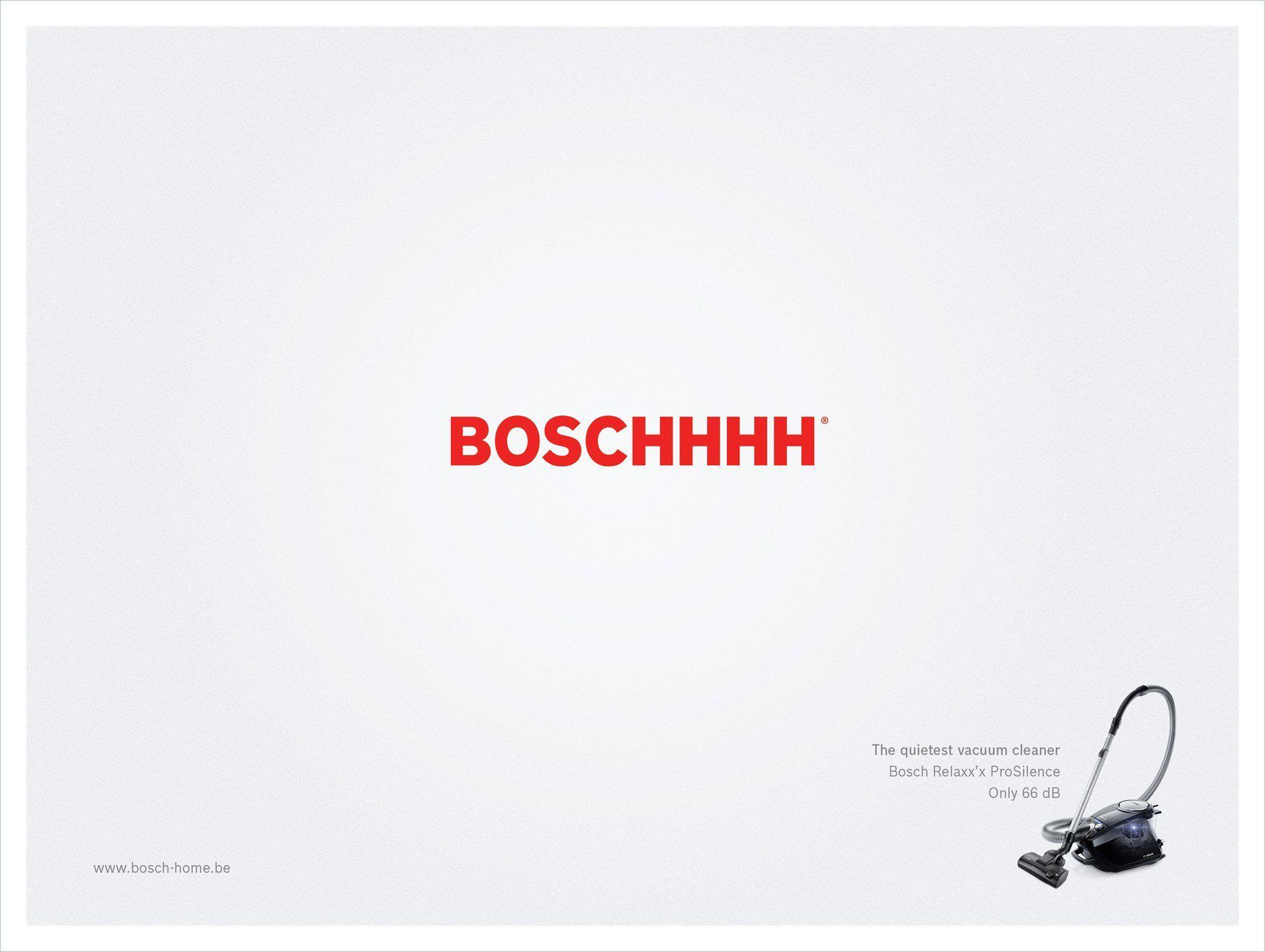 Bosch Relax Silence Ad Facebook Creative Marketing Campaign Print Ads Bosch