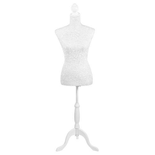 mannequin couture blanc h 160 cm dentelle petit coin. Black Bedroom Furniture Sets. Home Design Ideas