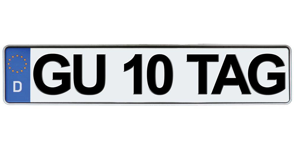 German license plate sticker funny bumper