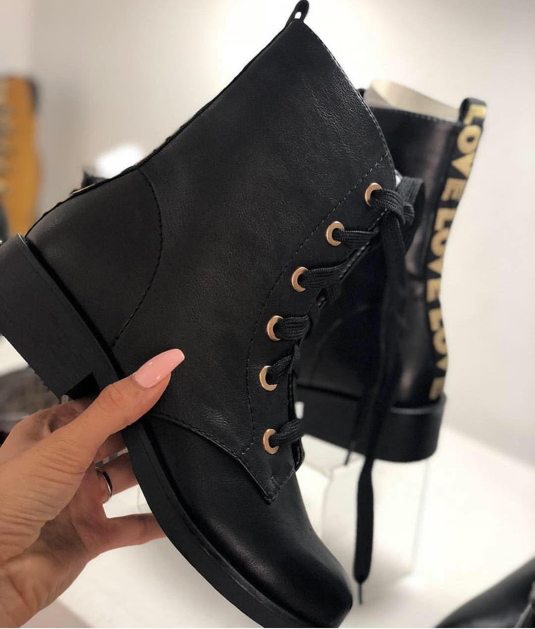 tendencias botines 2018 tacon bajo, Botines de moda 2018