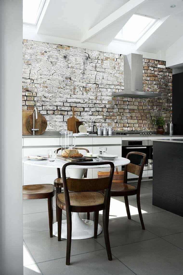 Papier Peint Tendance Idées Pour Une Maison Moderne Papier - Papier peint tendance salle a manger pour idees de deco de cuisine