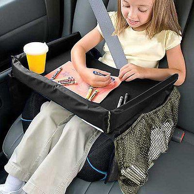 Detalles de ni o regulable asiento de coche mesa viaje for Asientos ninos coche