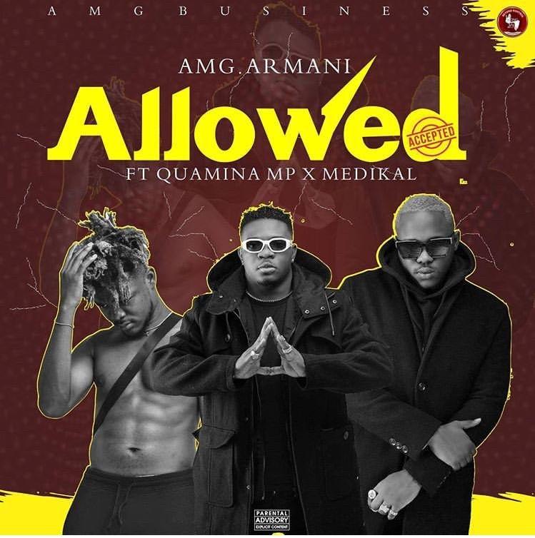 Amg Armani Allowed Ft Quamina Mp Medikal Prod By Slim Drumz In 2020 Amg African Music Songs