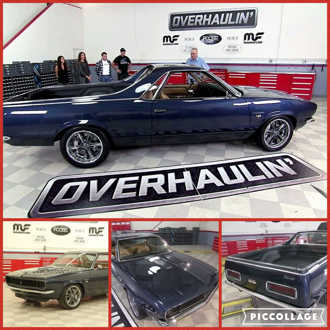 1970 El Camino Led Tail Lights 82 El Camino Creation By Chip Foose From Overhaulin Tv Show 67