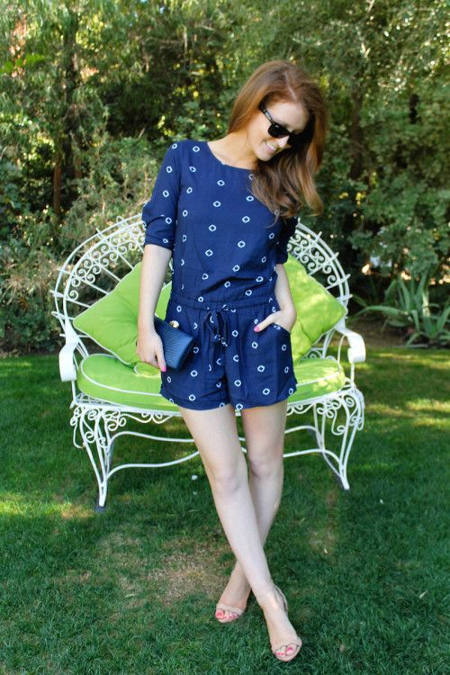 0a963a3f087b OUTFIT  OLD NAVY ROMPER - Design Darling
