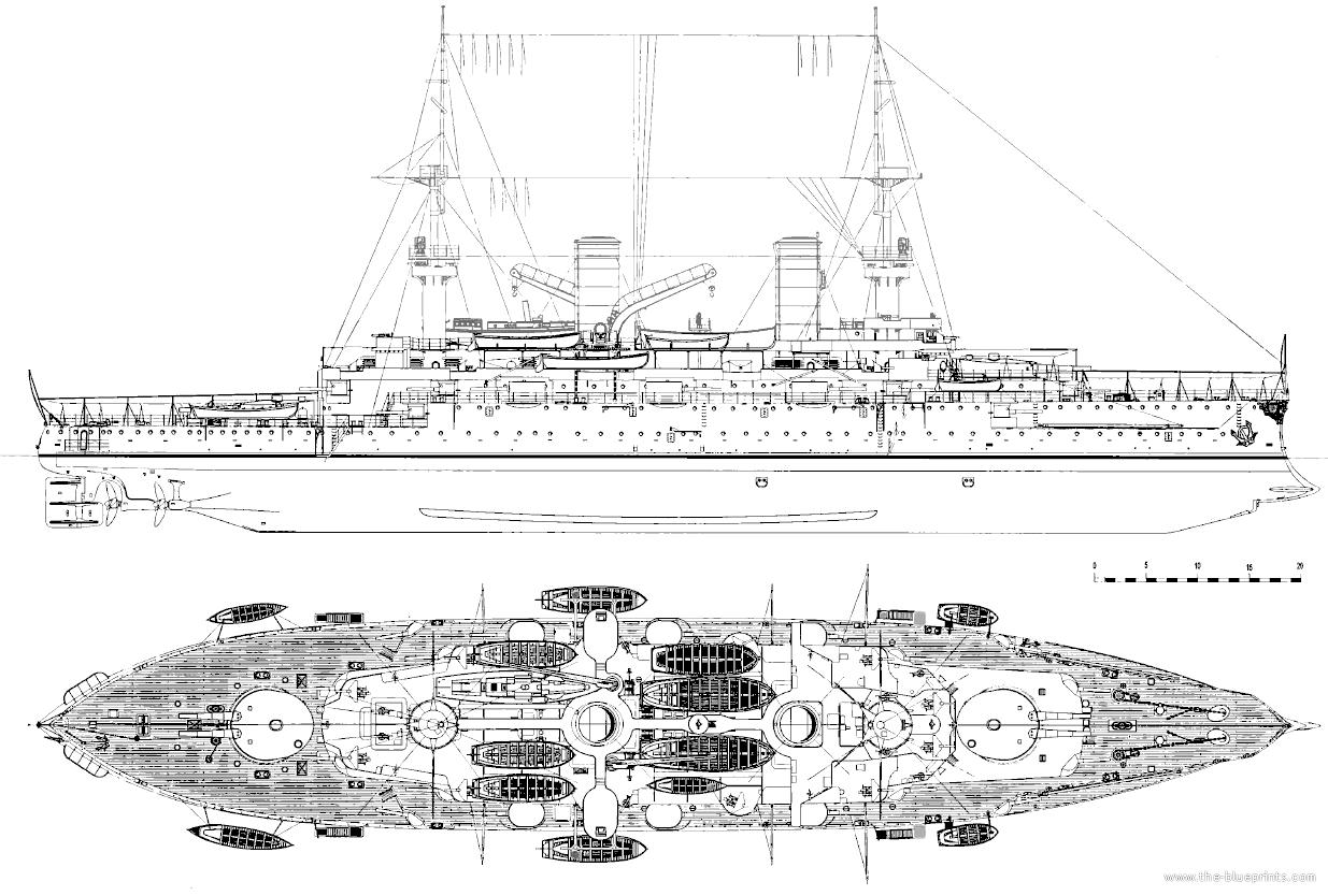 Sms Kaiser Barbarossa Battleship Naval History Model Ships