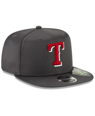 check out 04efc a6d0e New Era Texas Rangers Recycled 9FIFTY Snapback Cap - Gray Adjustable