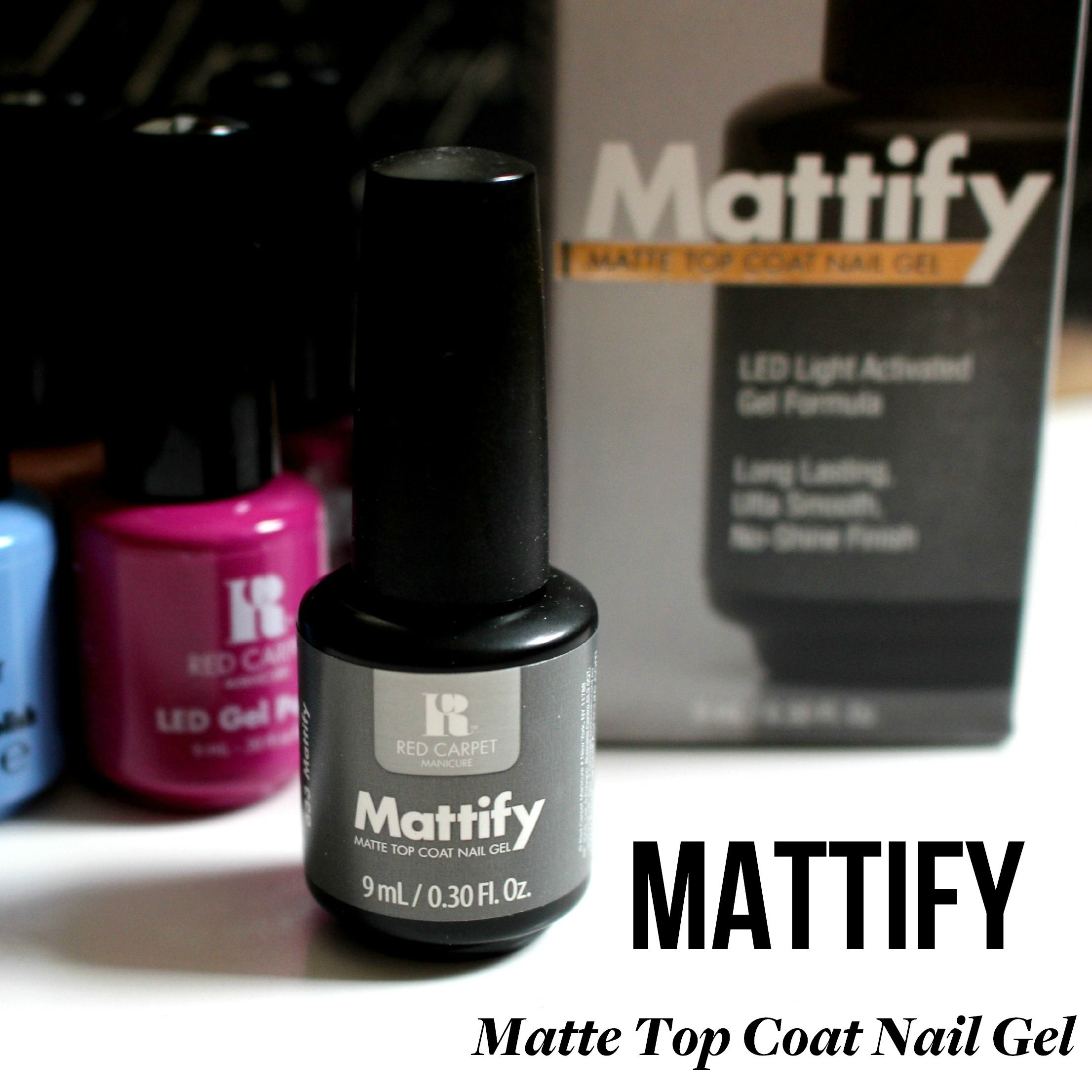 Our Mattify Matte Top Coat Nail Gel is the perfect way to add a ...
