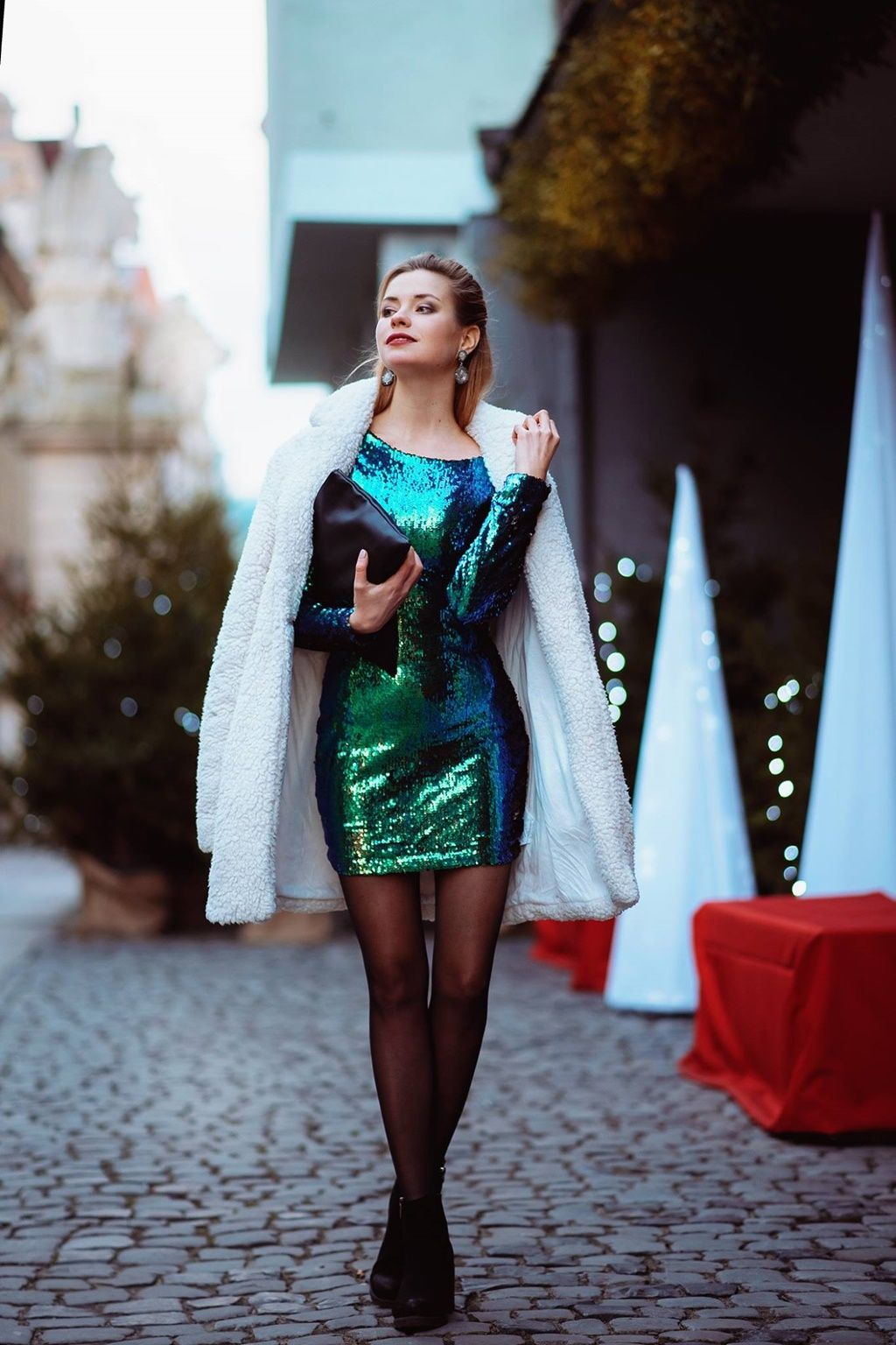 Dress for New Year's Eve Dresses, Sequin cocktail dress