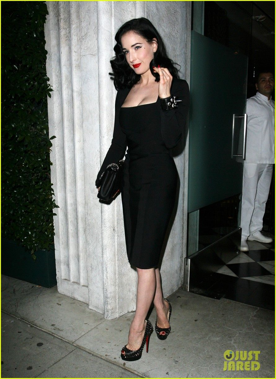 561c364958b Dita Von Teese - Christian Louboutin Book Launch Party in Beverly Hills