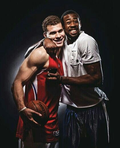 Deandre Jordan and Blake Griffin