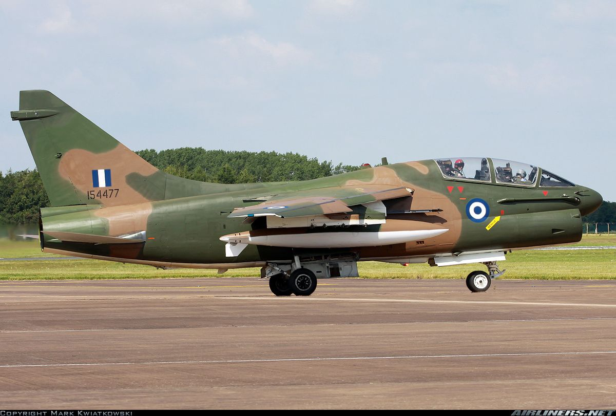 LTV TA-7C Corsair II - Greece - Air Force