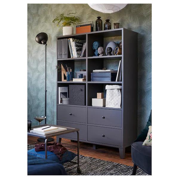 Storage Unit Dark Gray 47 1 4x68 1 8 In 2020 Ikea Storage Ikea Storage Units