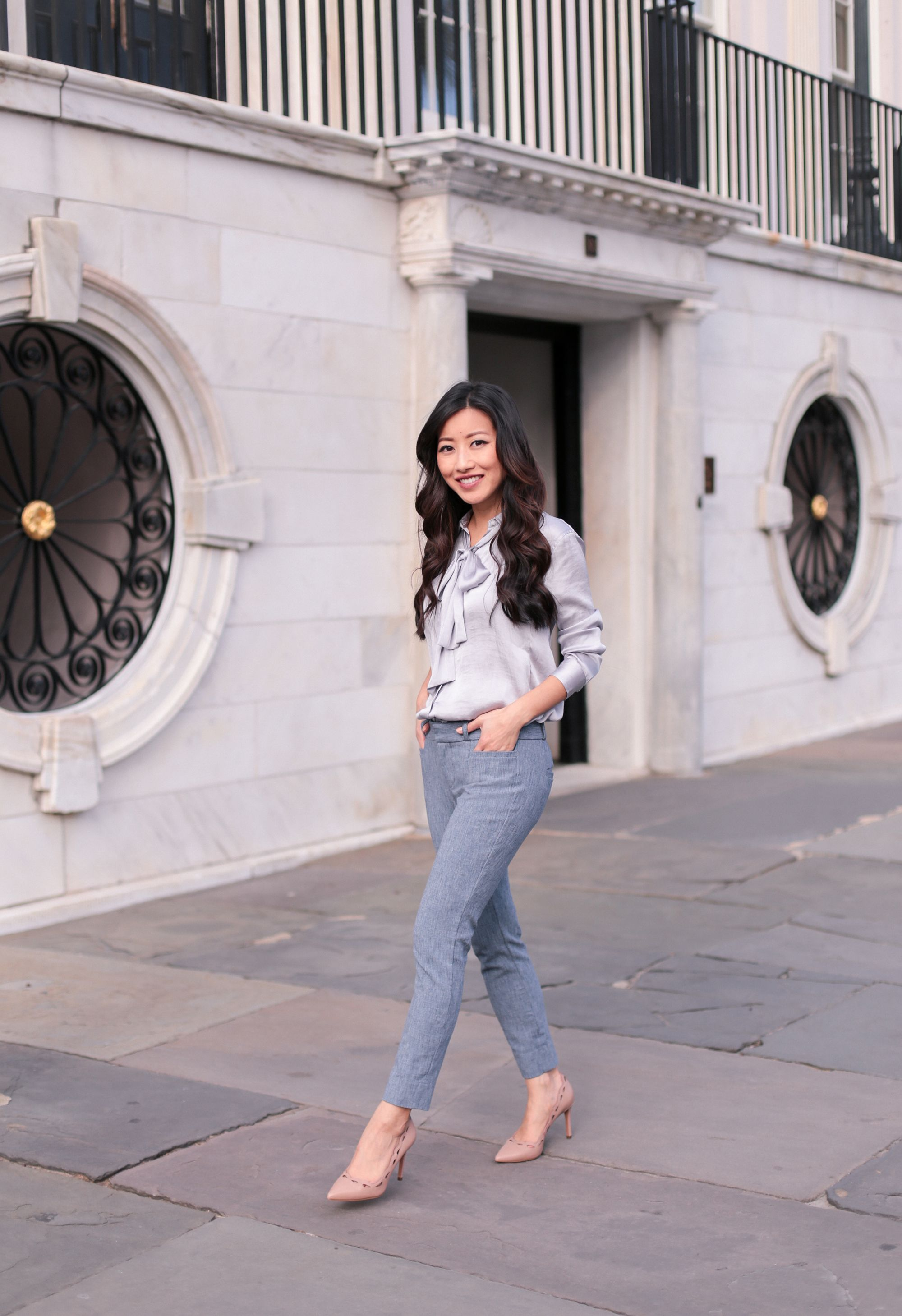 Spring Office Style Sloan Ankle Pants Two Ways Extra Petite