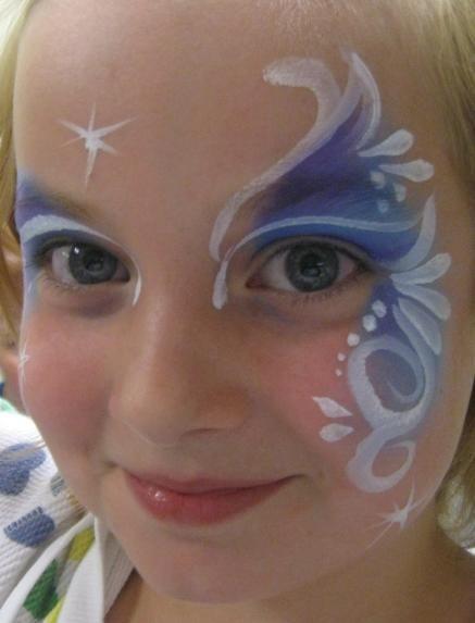 Maquillage pour enfant princesse frozen face painting pinterest maquillage pour enfants - Maquillage princesse facile ...