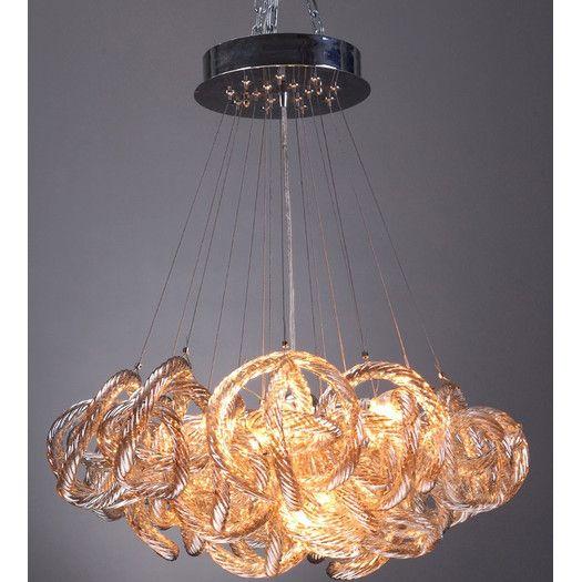 Dfine lighting infinity 5 light chandelier allmodern