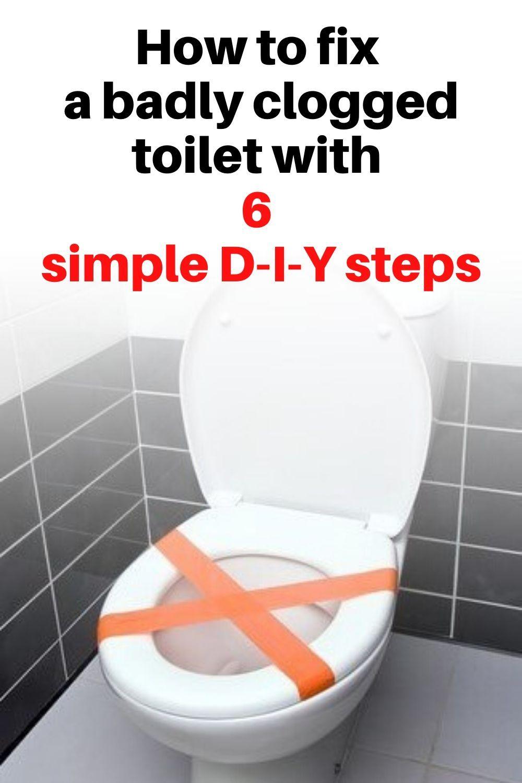 Blocked Toilet Tips In 2020 Clogged Toilet Toilet Toilet Drain